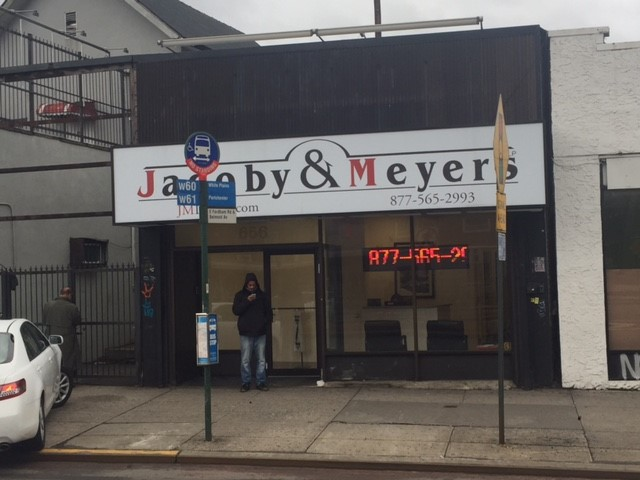 Jacoby & Meyers' Bronx Office
